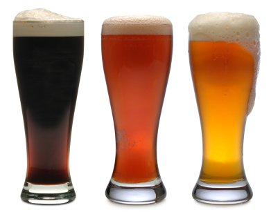 Selection of beers