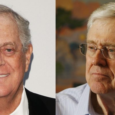 Koch Brothers to Give $400 Million to Republicans to Keep Them in Line in 2018