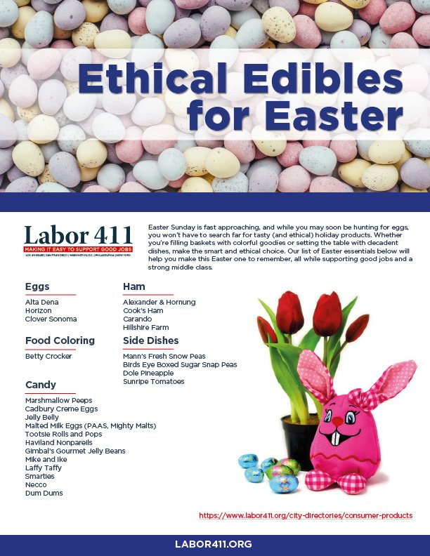 Ethical Edibles for Easter