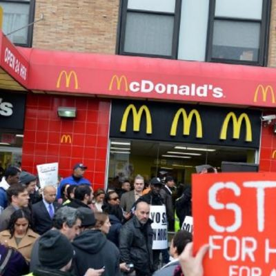 Workers Report that McDonald's Is Breaking its Minimum Wage Promise