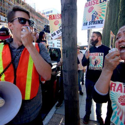 Andaz Staff Walk Out Over Union Organizer Arrest