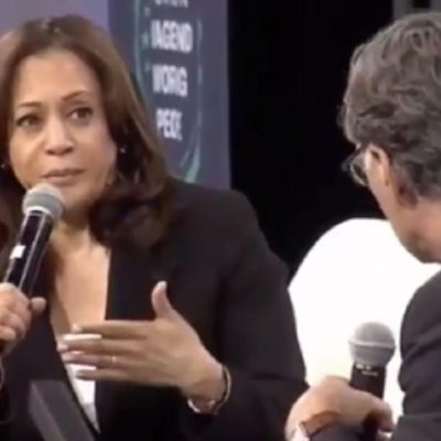 Kamala Harris Calls For 'Banning Right To Work Laws'