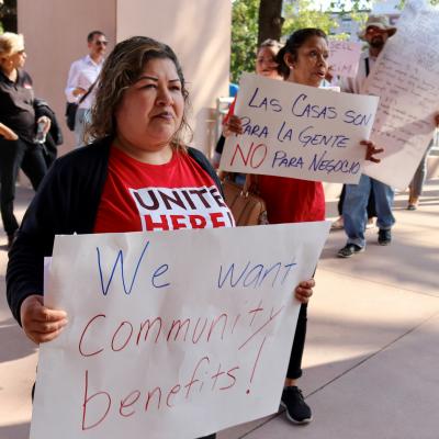 Unite Here! Local 11 Leads Way to Demand an 'Honest Anaheim'