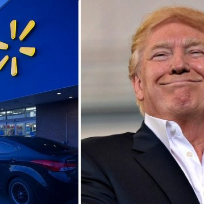 "Trump Says ""Country Is Doing Great"" Because Walmart Is Doing Great"