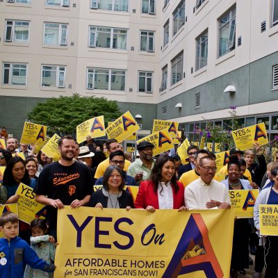 Labor, Housing Advocates Rally for San Francisco Affordable Housing Bond