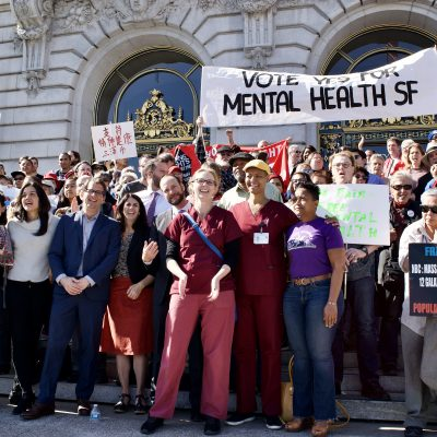Activists Rally to Fix San Francisco's Broken Mental Health Care System