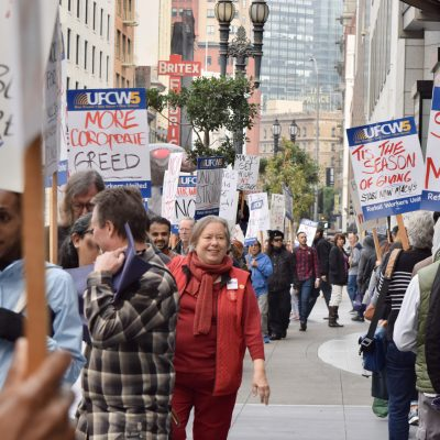 Macy's Workers Demand Affordable Health Coverage