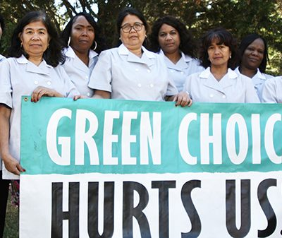 Housekeepers Call Out 'Green Choice' Program