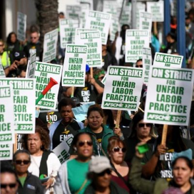 New Report: California Unions Saw A Big Jump In Membership Last Year