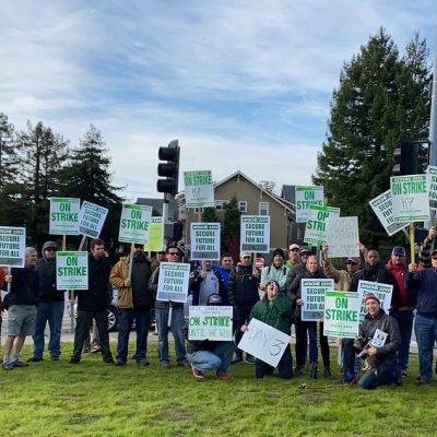 USCS Trade Workers Ratify Contract With 21% Raise And Graduate Students Plan 'Sick-out'