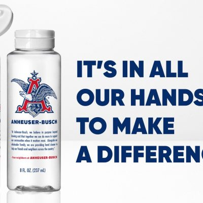 This Spray's for You - Breweries, Distilleries Making Hand Sanitizers