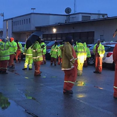 Sanitation Workers Refuse To Pick Up Trash Until They Get Protective Gear