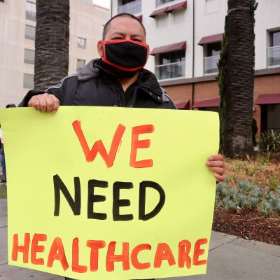 """Left Behind"" Santa Monica Hotel Workers Call Attention to Need for Healthcare Coverage Through COVID-19 Pandemic"