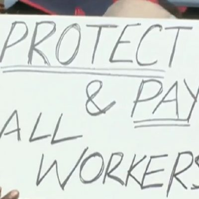 City Replaces Striking Sanitation Workers With Prison Labor Rather Than Pay $4.75 More An Hour