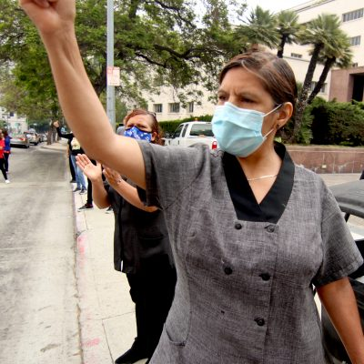 Hotel Workers to LA County: We're Getting Sick