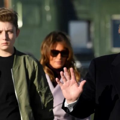 As Trump Demands That Schools Fully Re-Open, Barron Trump's School Says It Will Not
