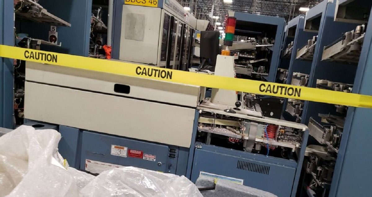 USPS Higher-Ups To Employees: Do Not Restore Mail Sorting Machines That Were Removed Under Trump-Appointed Postmaster General's Watch