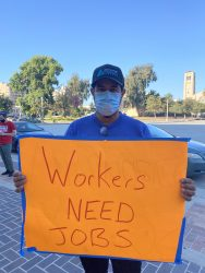 Fired Hotel Workers Supported by MLBPA and NFLPA Urge Pasadena to Enforce Right of Recall and Worker Retention Law