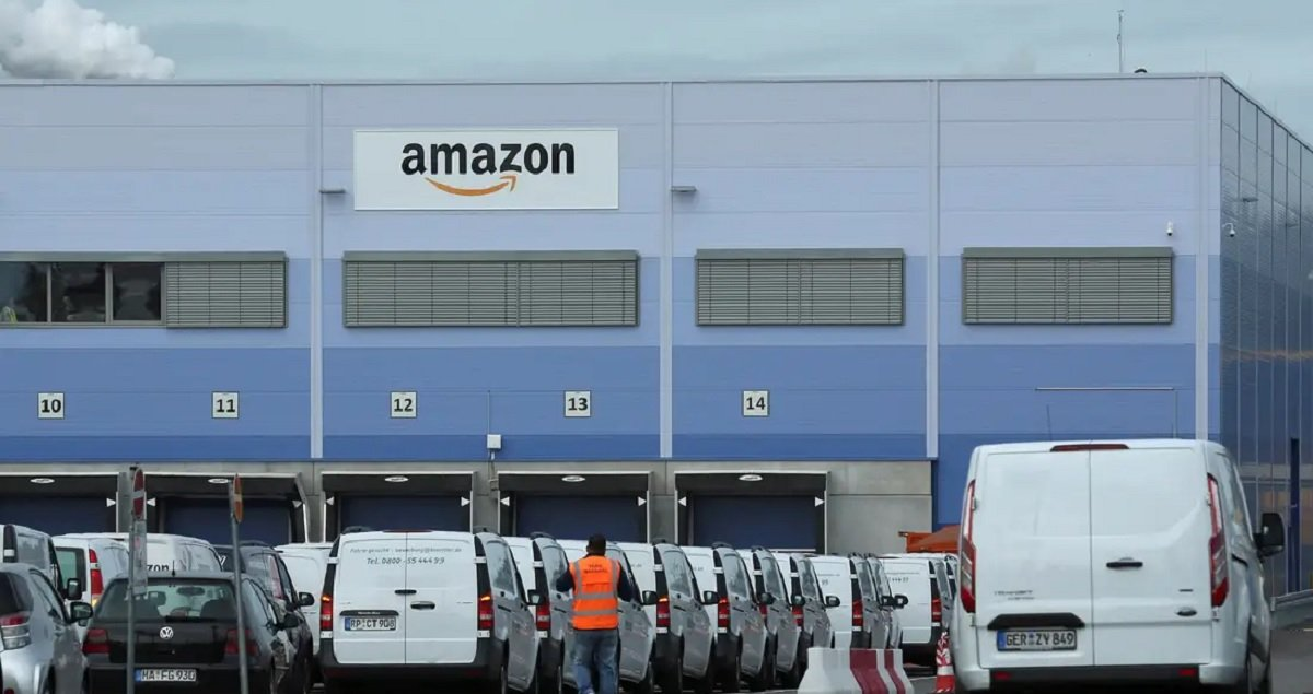 Bezos is worth $200 billion. Amazon, $1 trillion. Yet it posted job ads for tracking 'labor organizing threats'