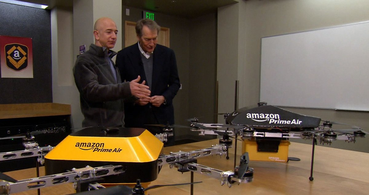 Amazon Lays Off Workers Developing The Delivery Drone Intended To Replace Workers