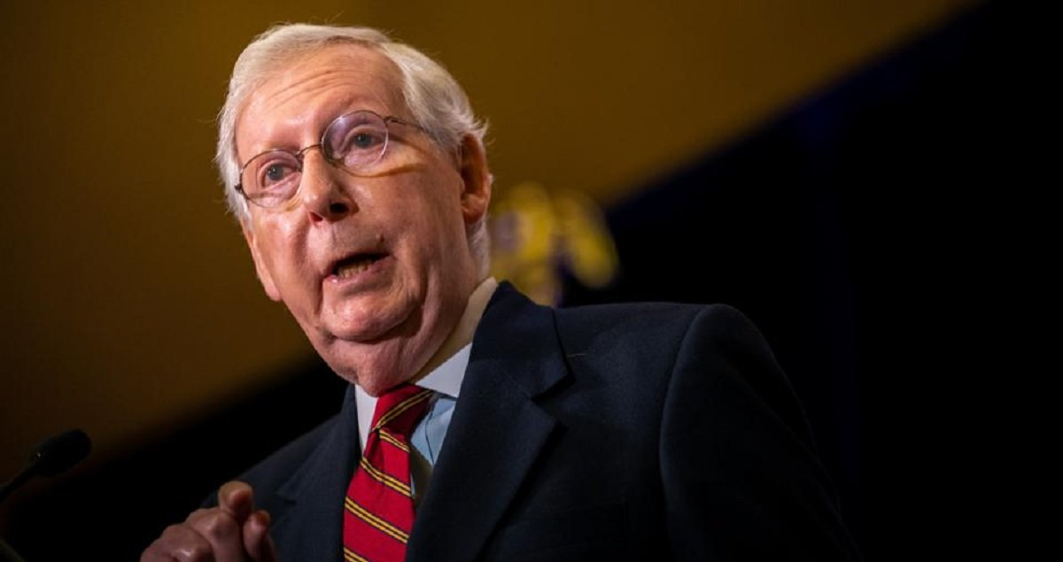 McConnell Blocks $2,000 Stimulus Bill That The House Approved Yesterday, Despite More GOP Senators Supporting The Bigger Checks