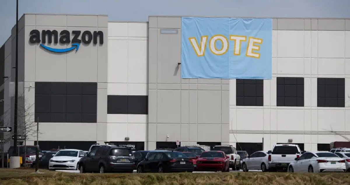 NLRB Blocks Amazon's Move To Use Video Camera To Watch Ballot Box In Alabama Election